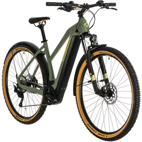 Cube Cross Hybrid Pro 500 Allroad Trapeze, green'n'orange